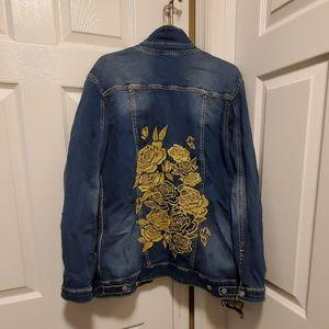Lularoe Jean Jacket Size XL